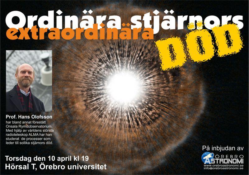 Affisch Hans Olofsson
