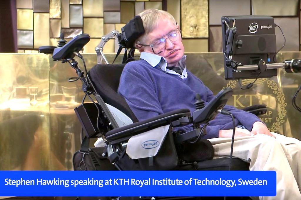 Stephen Hawking på KTH